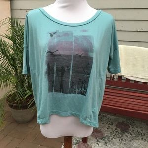 Hurley Loose Boxy Blue shirt (S)